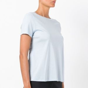 Helmut Lang Tops - Helmut Lang Back Tie Cotton Tee T-Shirt Top